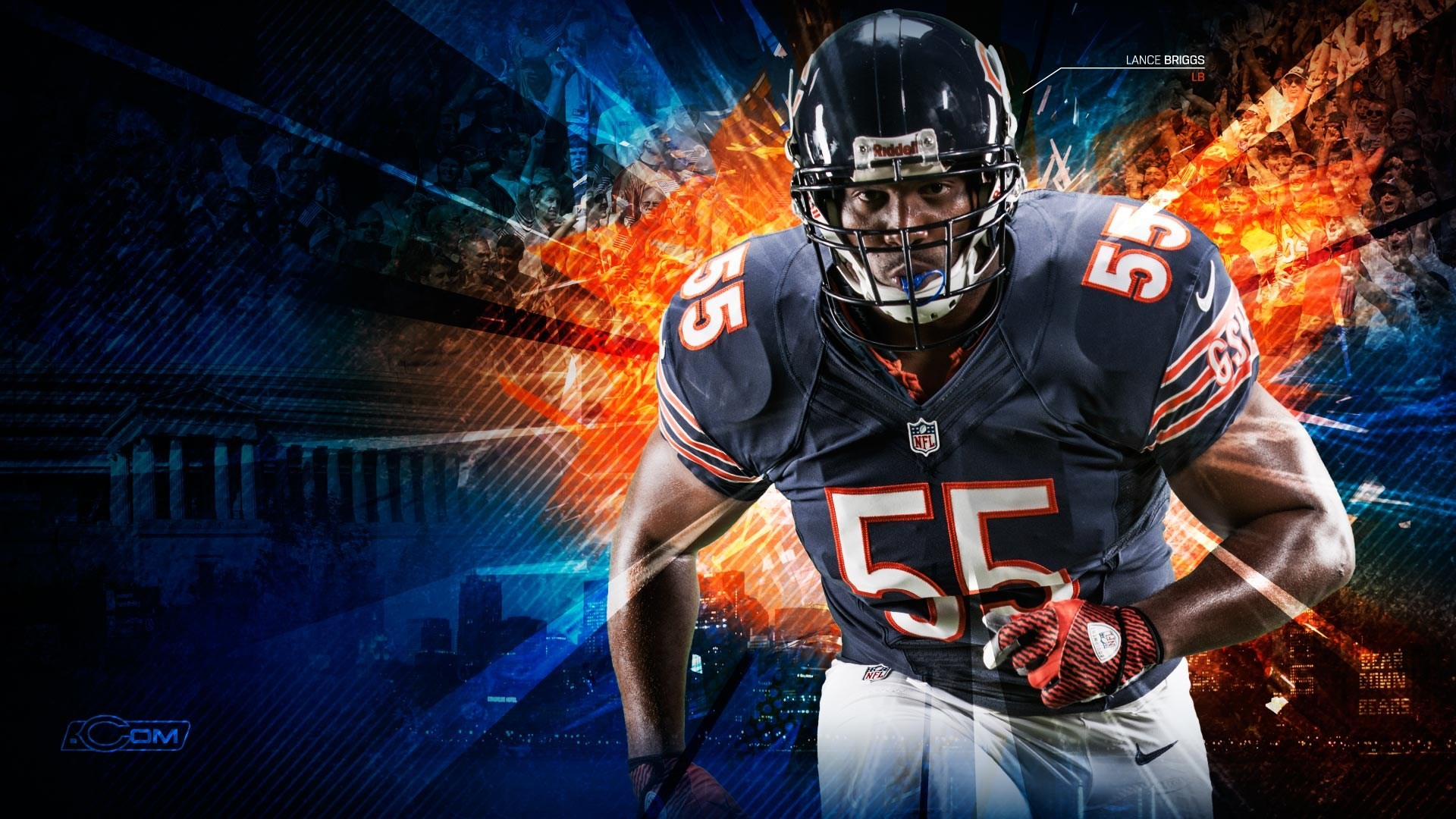 Bulls Iphone Wallpaper Chicago Bears Wallpapers 78 Images