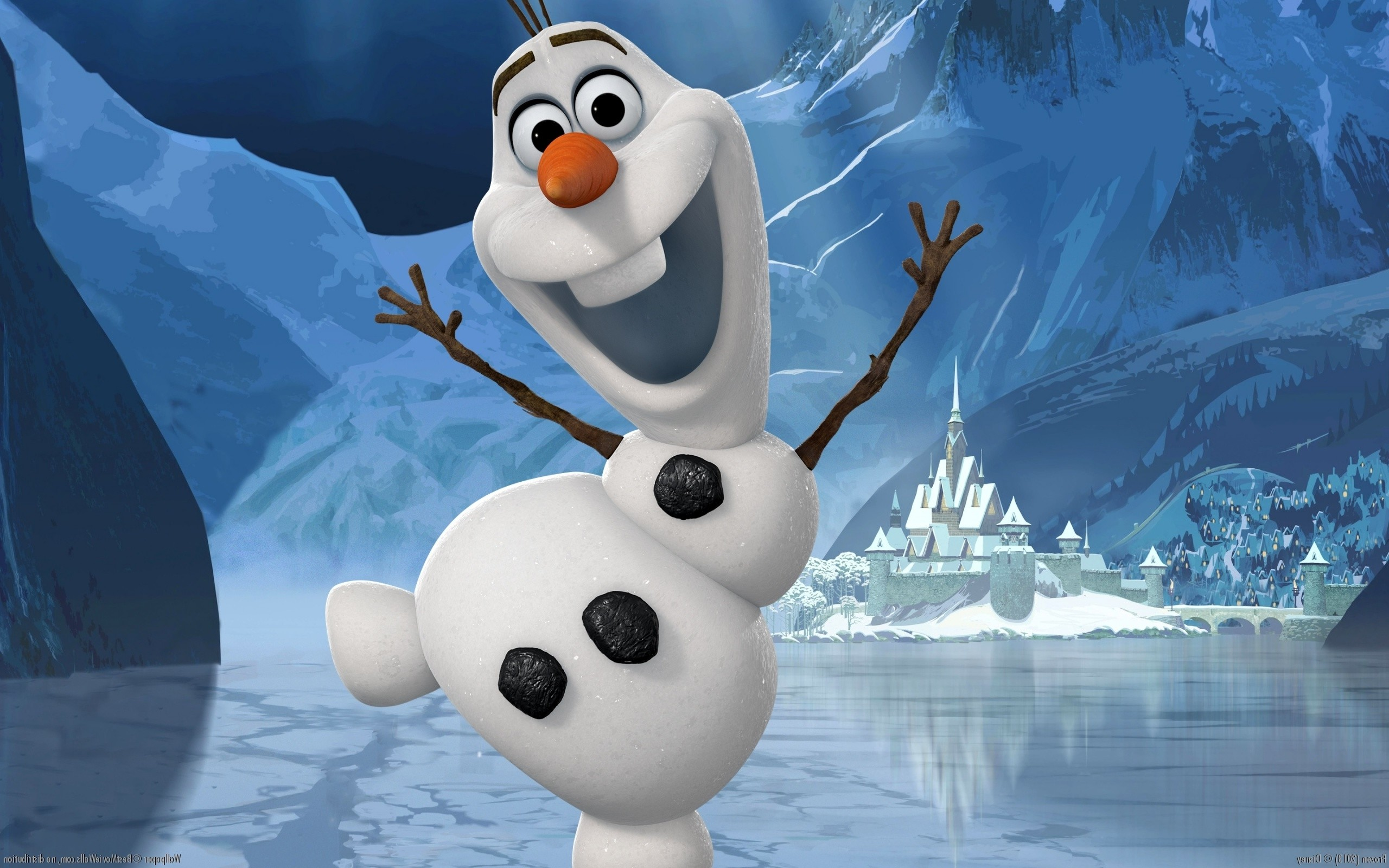 Cute Cartoon Hd Wallpapers Free Download Disney Olaf Wallpaper 69 Images