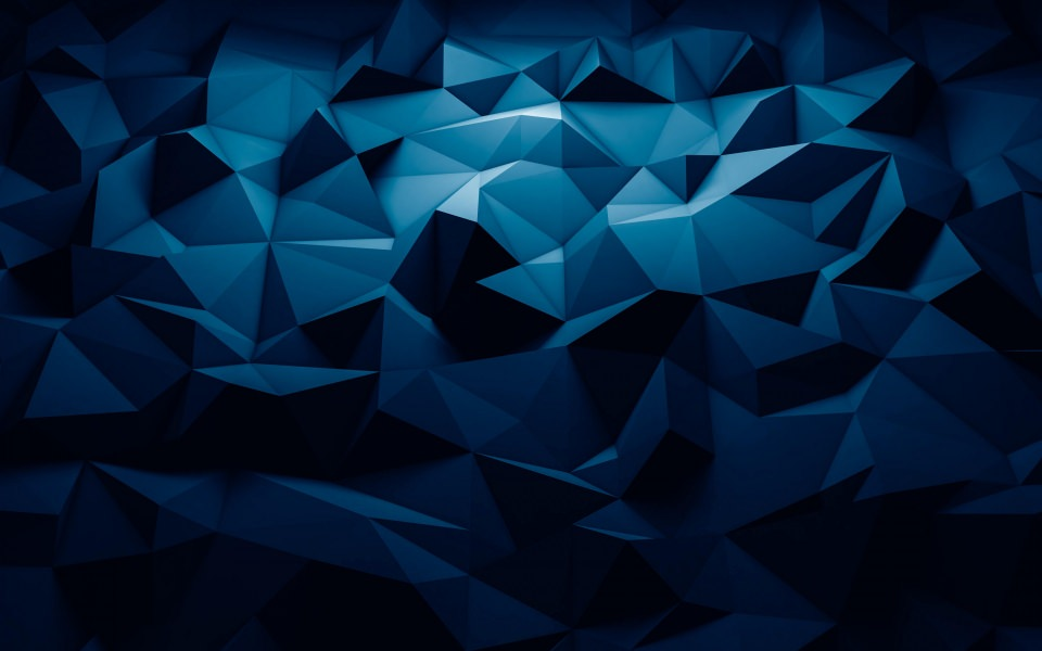 3d Wallpapers For Blackberry Z3 Download 3d Blue Polygon Pattern Wallpaper Getwalls Io