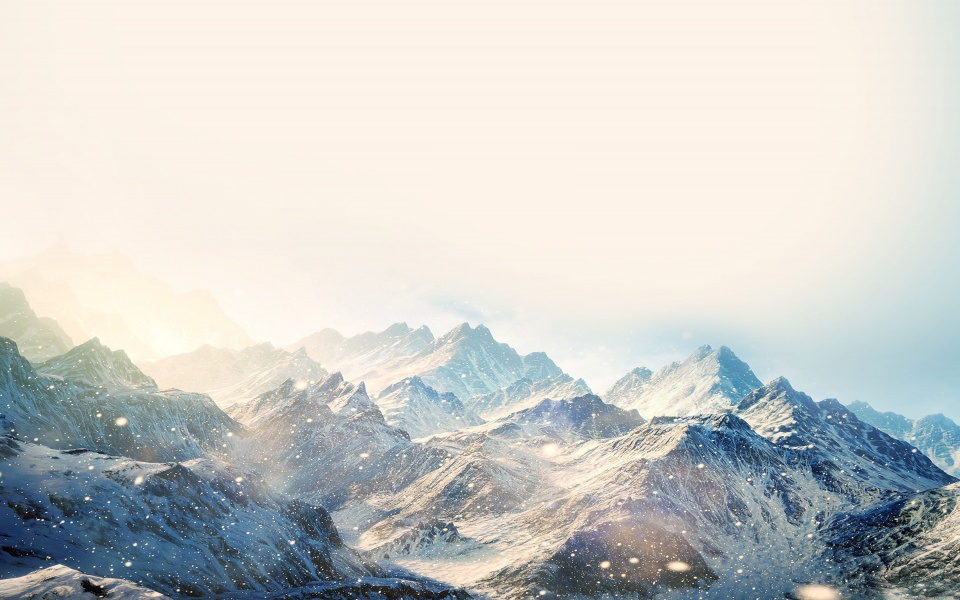 Nokia Lumia 710 Download Fantasy Snowy Mountain Wallpaper - Getwalls.io