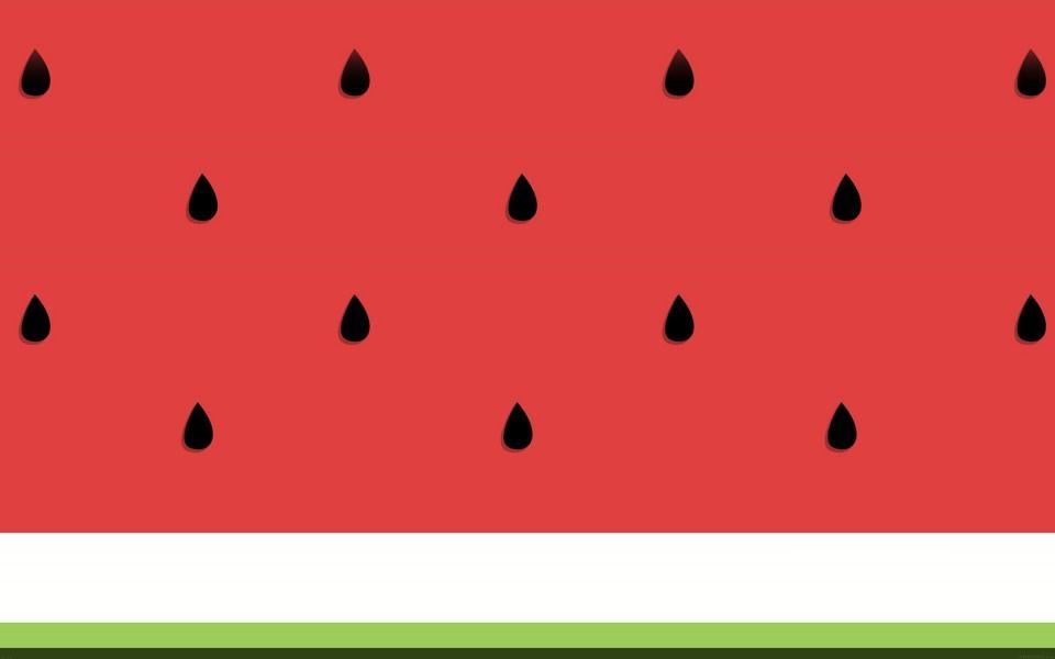 Watermelon Wallpaper Cute One Download Watermelon Seed Pattern Wallpaper Getwalls Io