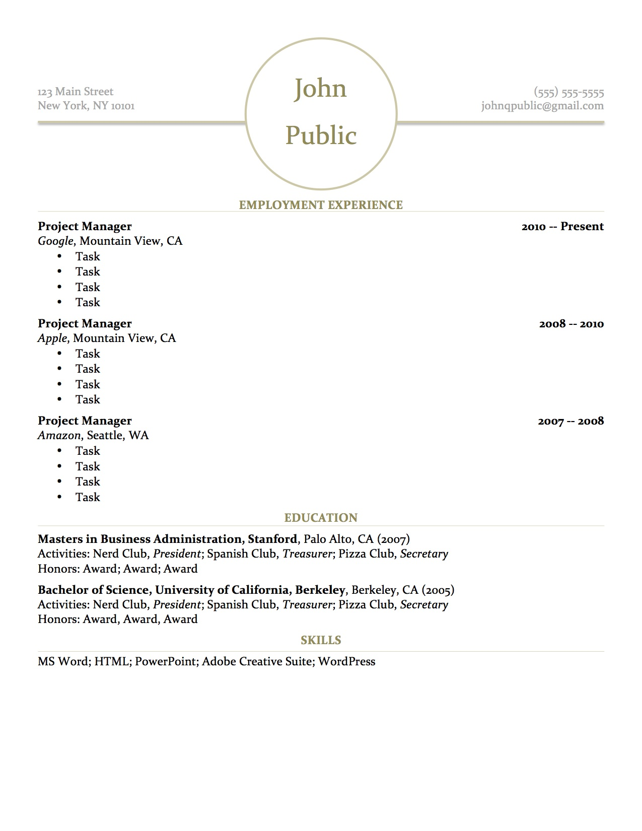 free resume search database for employers professional resumes