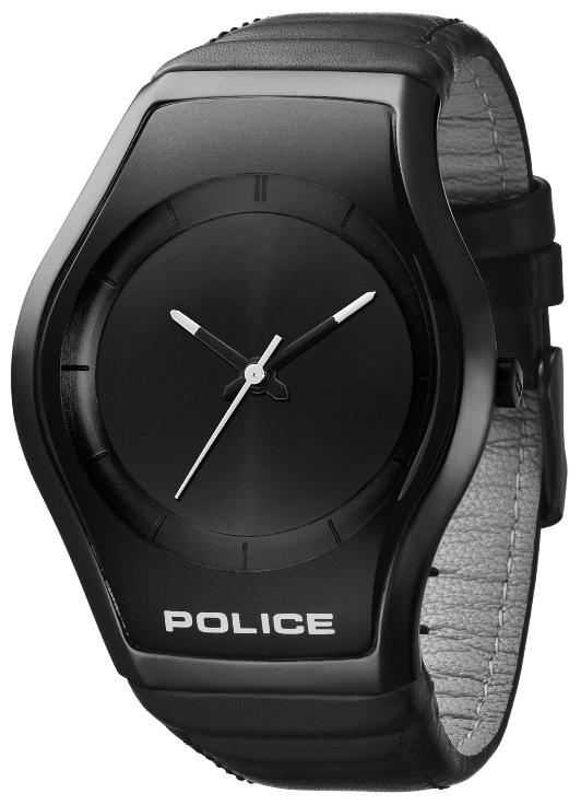 Silver Strap Watches For Men Police Mens Pl 12778msu/61 Black Dial Sphere Watch | Men's