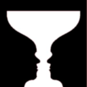 optische illusie - glas