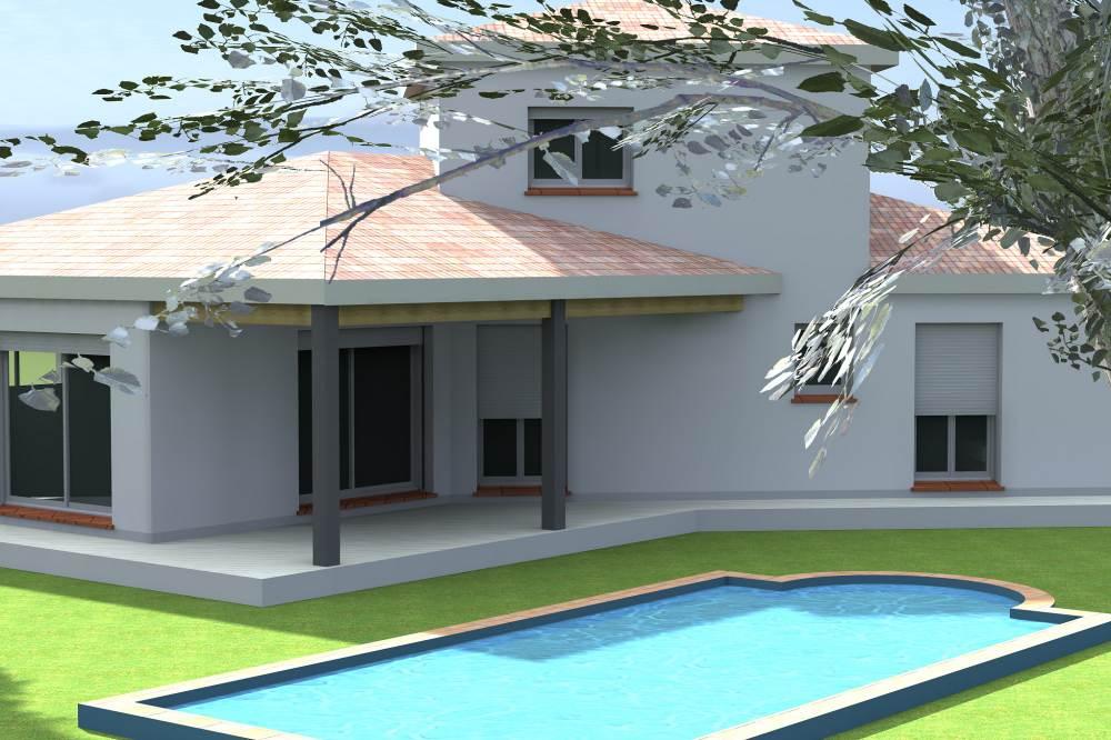 Plans De Maison Moderne Plain Pied