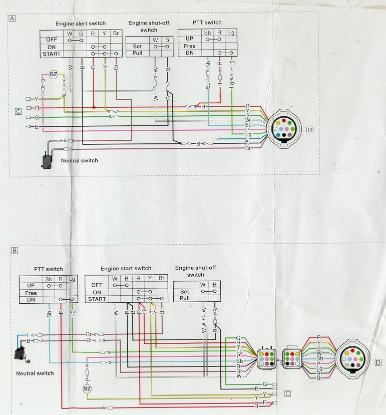 yamaha 703 wiring diagram