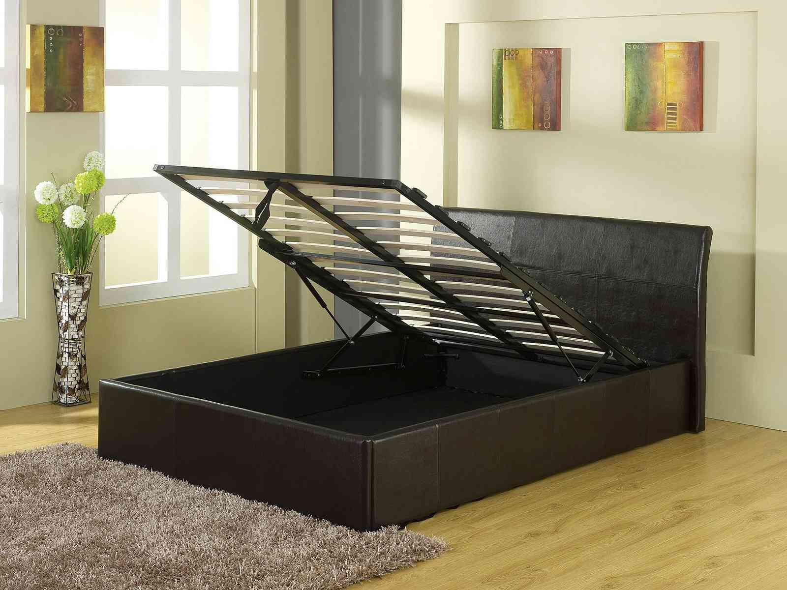 Gas Lift Ottoman Bed Gfw The Furniture Warehouse Denver Bedstead