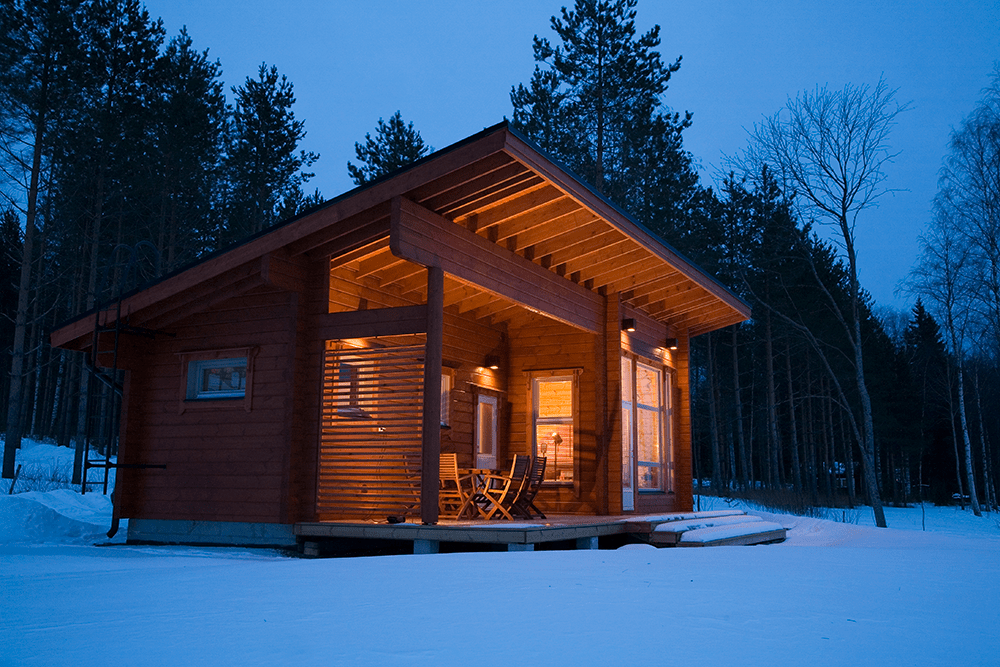 Sauna House in Finland