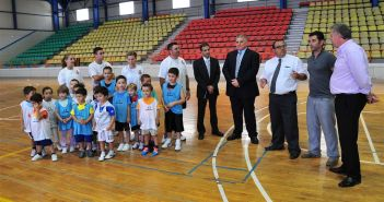 Children encouraged to be active in sports
