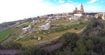 Bird 's eve view of the Nativity Village