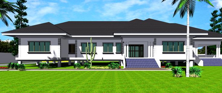 Pretty Single Family House Plans. Engr Eddy 6 bedroom Duplex ...