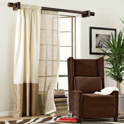 Interior Design with Full Length Curtains