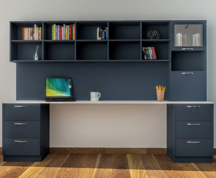 Contemporary And Colorful Study Table Design Ideas