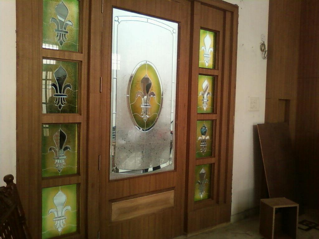 Door Designs With Glass Glass Door Design Gharexpert