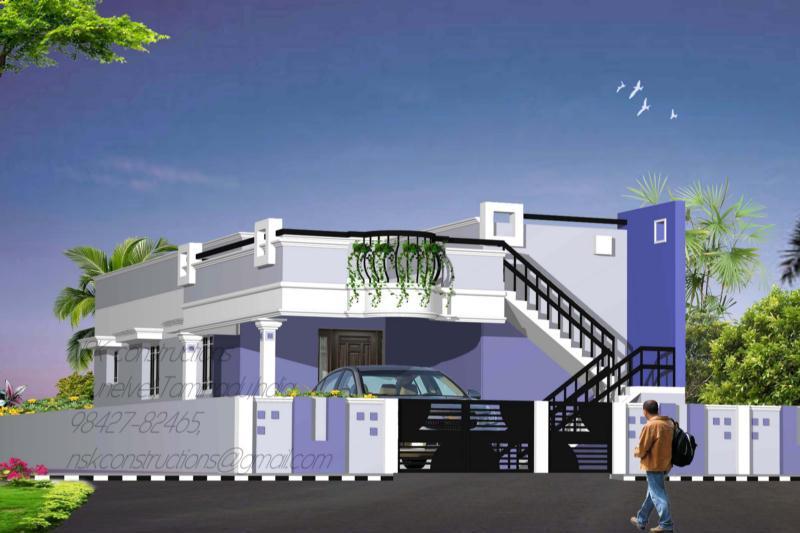 Front Elevation Ground Floor Furnished : House front elevation design joy studio gallery