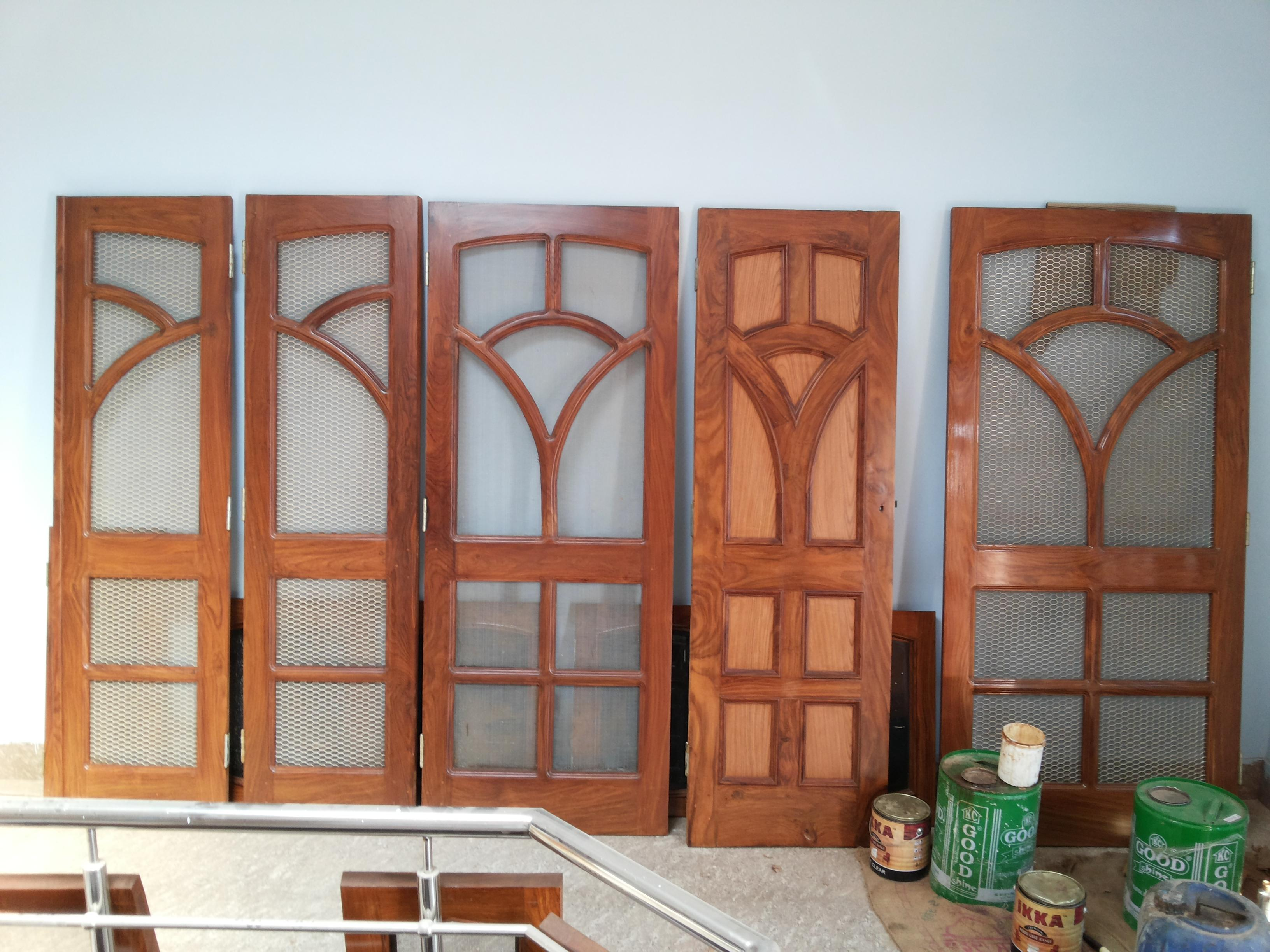 Latest Wooden Door Designs 2017 Mesh Doors Design In Wood Gharexpert