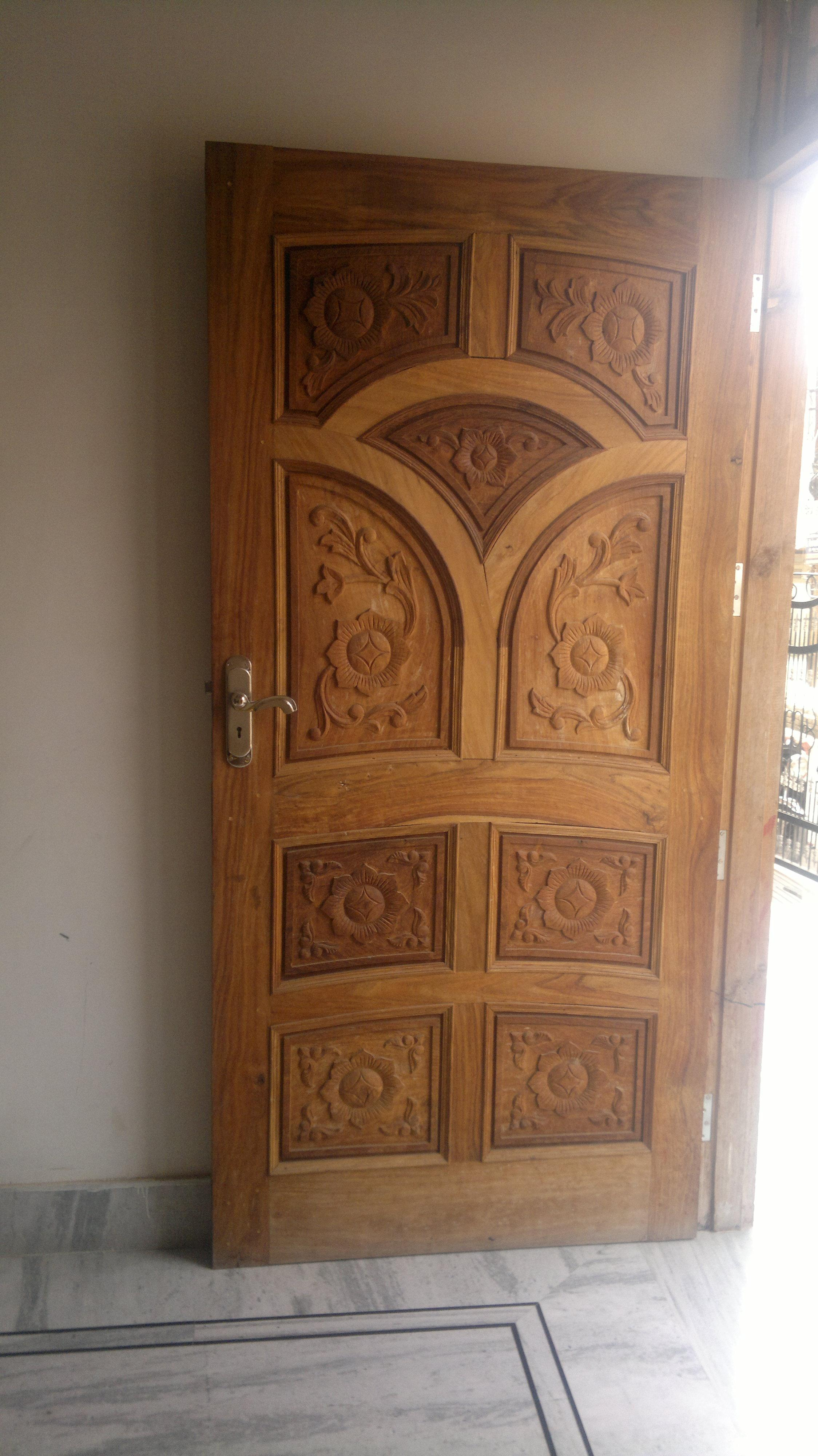 Latest Wooden Door Designs 2017 Single Wooden Door Design Gharexpert