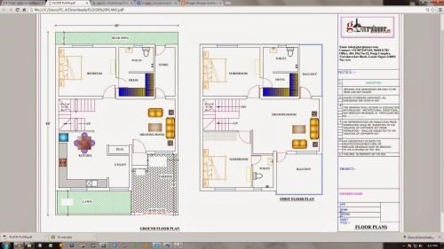 Medium Of Duplex House Plans