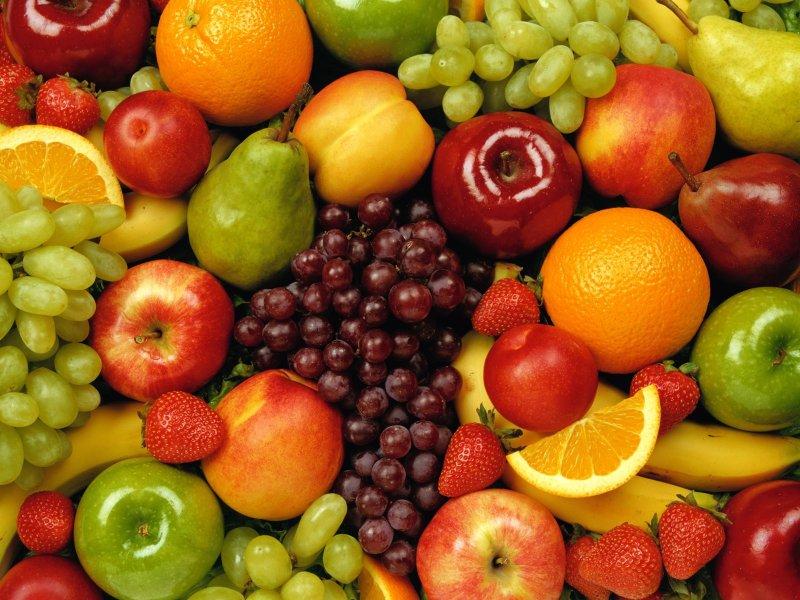 фрукты.
