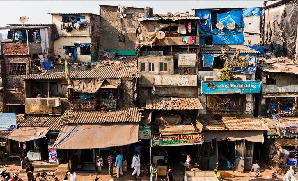 Дхарави, район в индийском Мумбаи, стал