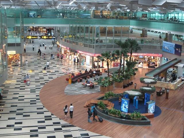 Сингапур. Чанги.Международный аэропорт.
