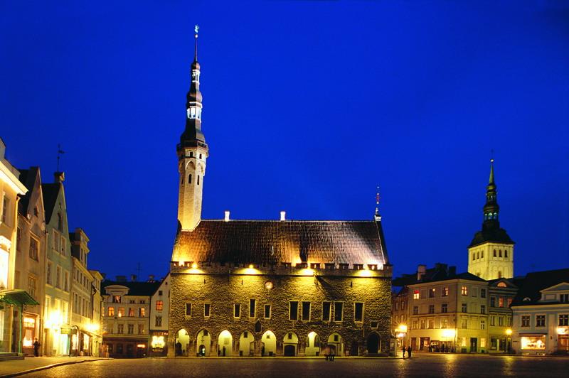 средневековый храм в Таллине-