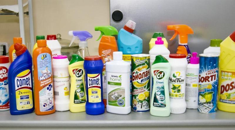 Какие бывают универсальные чистящие средства