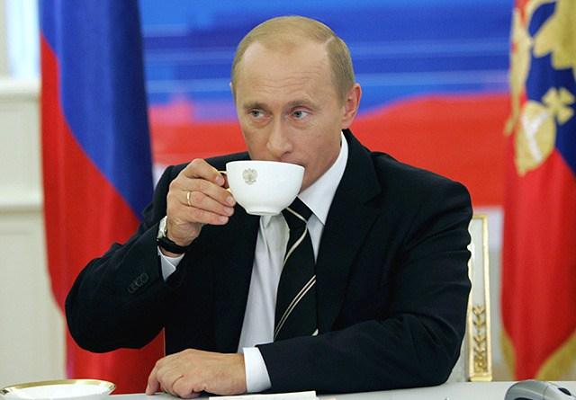 Путин в день рождения