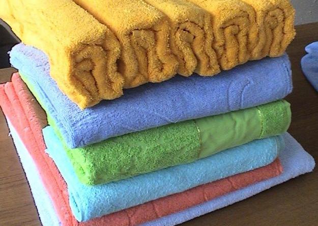 полотенце с жестким ворсом