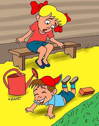 Карикатуры, юмор,