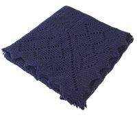 Merino Wool Womens Shawl in Shetland Style - G H Hurt
