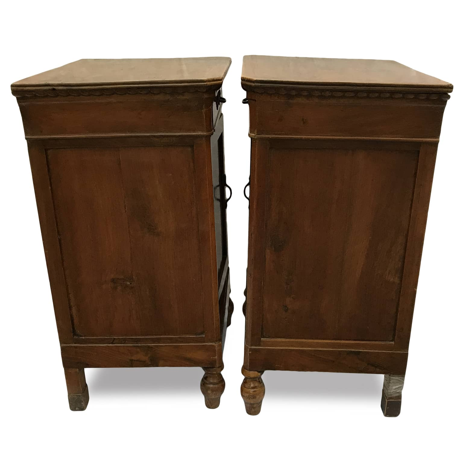 Antique Bedside Tables Pair Of Antique Italian Walnut Bedside Tables