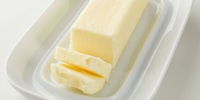 Frozen butter is a baker's secret weapon. Grate frozen butter in your doughs for the most tender piecrusts and biscuits. Just freeze the butter in its original wrapping inside of an airtight bag or tightly wrapped in foil.