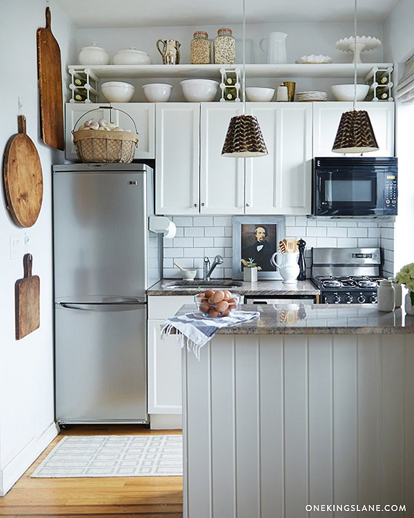 12 Small Kitchen Design Ideas - Tiny Kitchen Decorating - small kitchen ideas pictures