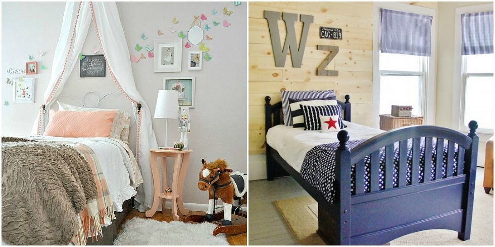 Kids Room Makeovers - DIY Boys and Girls Bedrooms - boy and girl bedroom ideas