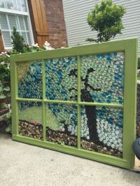 Ways To Use an Old Window Frame - DIY Repurposing Projects