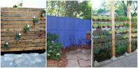 DIY Patio Privacy Screens - Backyard Patio Ideas