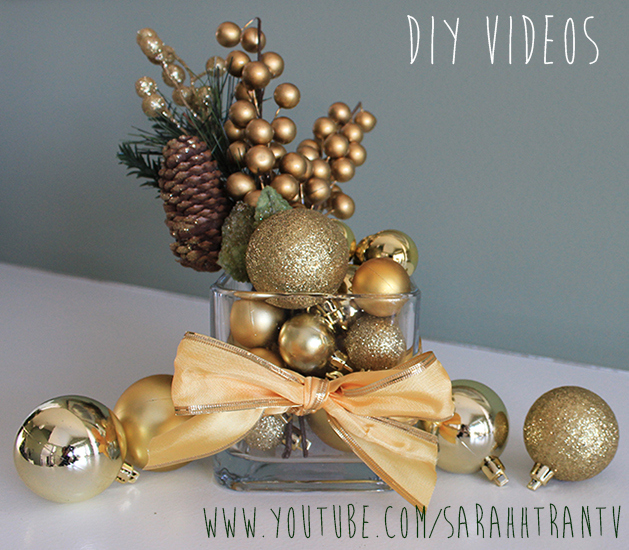 40 DIY Christmas Table Decorations and Settings - Centerpieces - christmas floral decorationswhere to buy christmas decorations