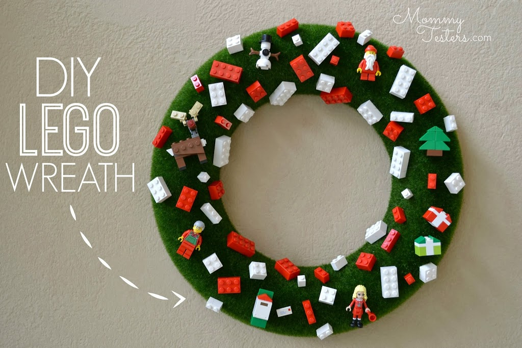 67 DIY Christmas Wreaths - How to Make a Holiday Wreath Craft - christmas wreath decorations