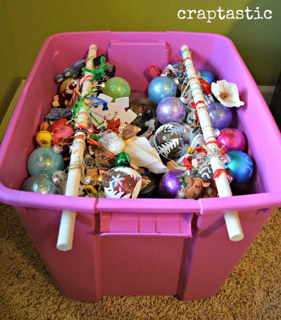 Christmas Decoration Storage Ideas - How to Store Fake Christmas - how to store christmas decorations
