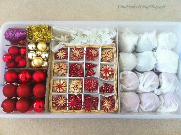 Christmas Ornament Storage Ideas - How to Organize Your Tree Ornaments - how to store christmas decorations