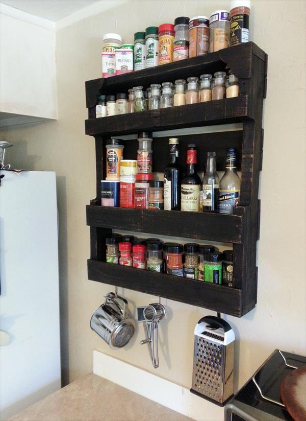 Meuble Tv Palette Tuto How To Organize Spices - Diy Spice Rack Ideas