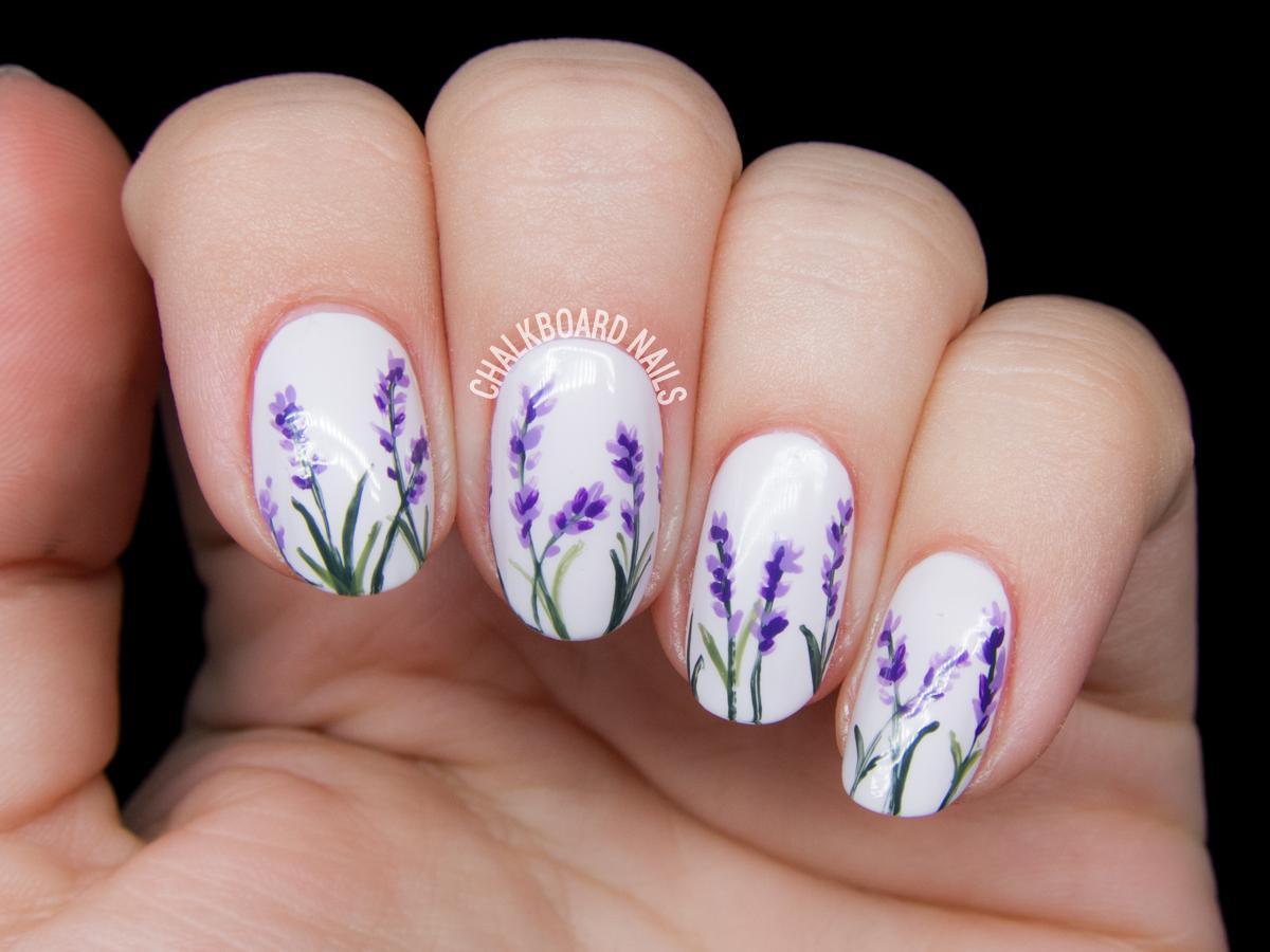 20 Spring Nail Designs  Pretty Spring Nail Art Ideas