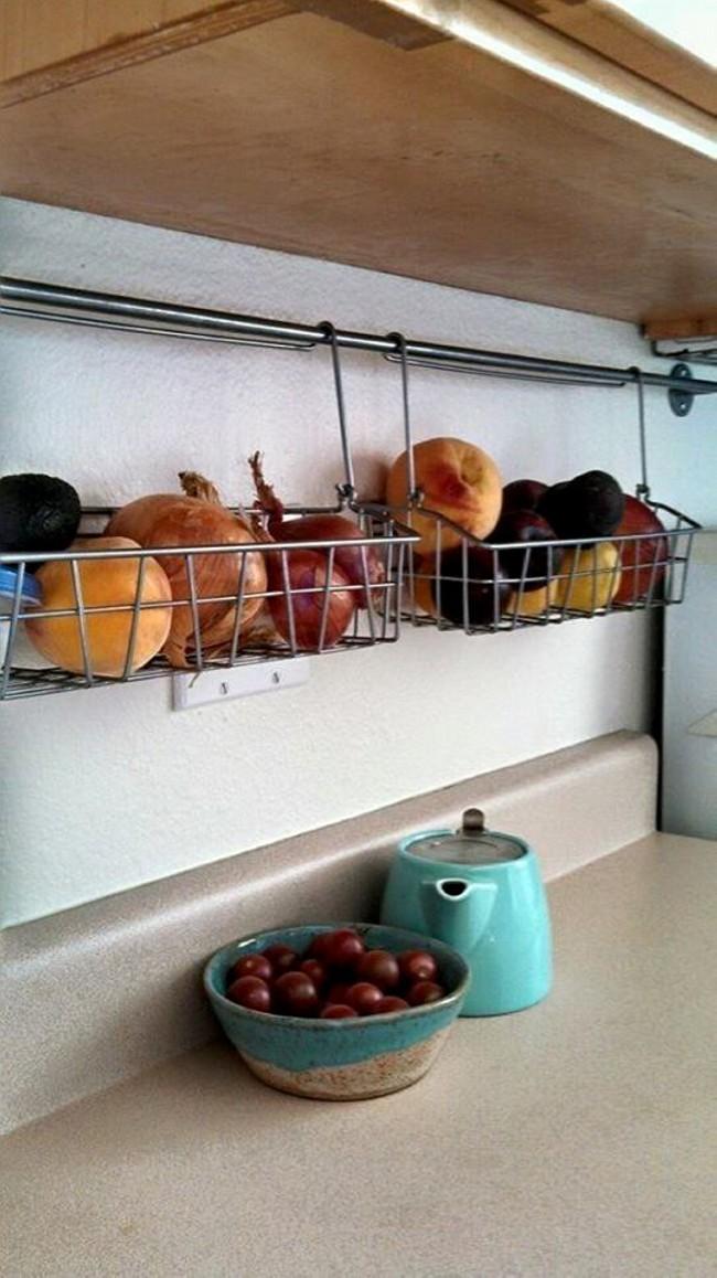 Kitchen Organization Ideas - Kitchen Organizing Tips and Tricks - kitchen storage ideas for small spaces