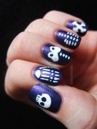 55+ Halloween Nail Art Ideas - Easy Halloween Nail Polish ...