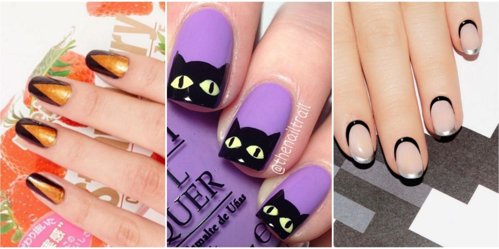 Easy Halloween Nail Art Image collections - easy nail designs for