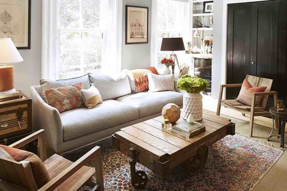 Small Space Decorating Ideas - Decorating and Design Tips for - small scale living room furniture