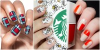 21 Thanksgiving Nail Art Designs - Ideas for November Nails