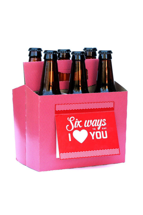 $16  BUY NOW If you have Amazon Prime, you can get this six-pack box delivered to your doorstop tomorrow complete with a special greeting. Beer not included; choose his fave.