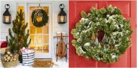 Door Decorations & Backyards:Decoration Christmas Door ...